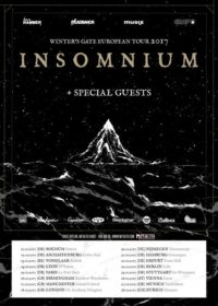 Insomnium - Winter's Gate European Tour 2017