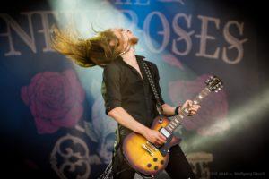 The New Roses auf dem Rockharz Open Air 2016