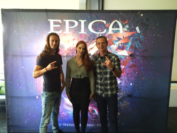 "EPICA - Listening Session zu ""The Holographic Principle"""