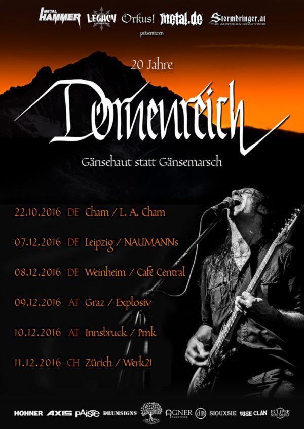 Dornenreich - Jubiläumstour