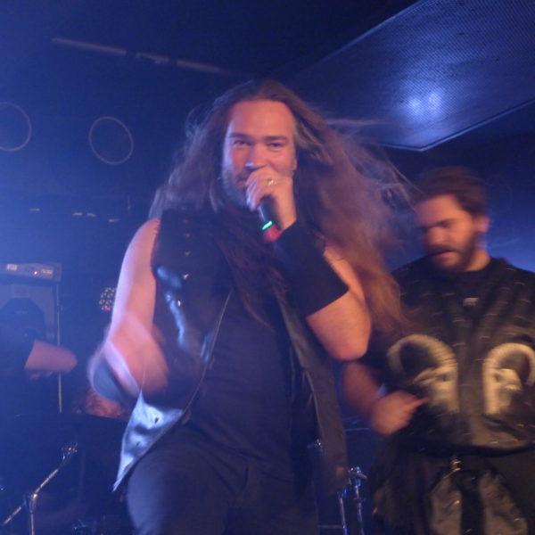 Jacco live beim Berlinauftritt von HEIDEVOLK 2016
