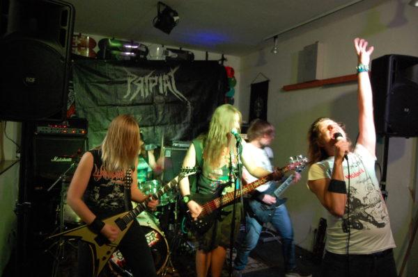 AntiPeeWee beim Skate Metal Fest 2016 (Foto von Stefanie Fischediek)