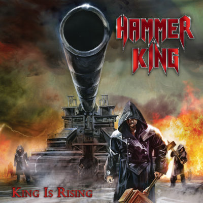 Cover Artwork zu The King Is Rising von HammerKing