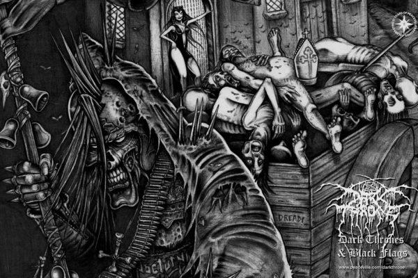 "Mr. Necro auf DARKTHRONEs ""Dark Thrones And Black Flags"""