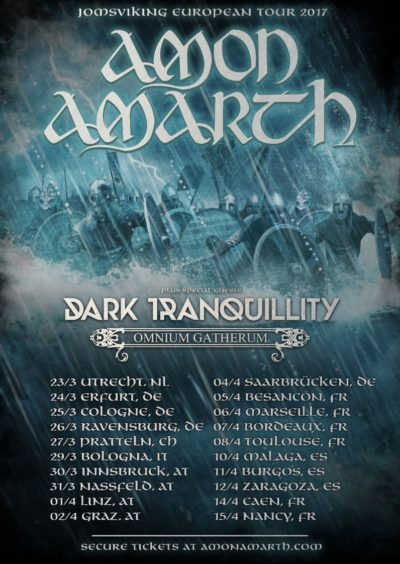 Amon Amarth Us Tour Abbath