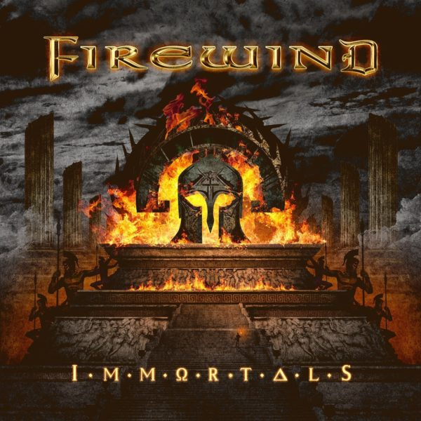 Firewind - Immortals - Album 2017 - Cover-Artwork