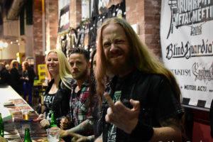 Izegrim Autogrammstunde Ruhrpott Metal Meeting 2016