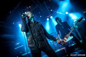 Barren Earth live in Bochum (Matrix), 11.01.2017. Pic by Eckart Maronde