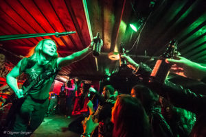 Revel In Flesh auf ihrer Emissary Of All Plagues-Releaseparty 20