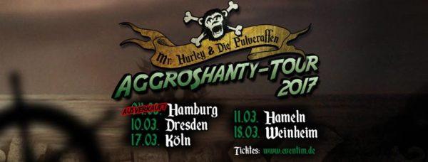 Mr. Hurley & Die Pulveraffen - Tour 2017