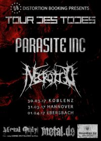 Necrotted + Parasite Inc.