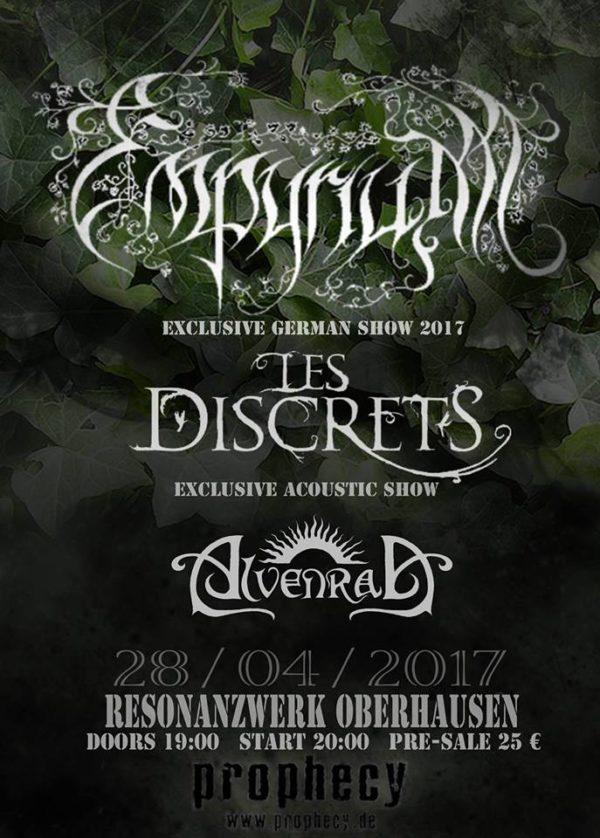 Empyrium live in Oberhausen 2017