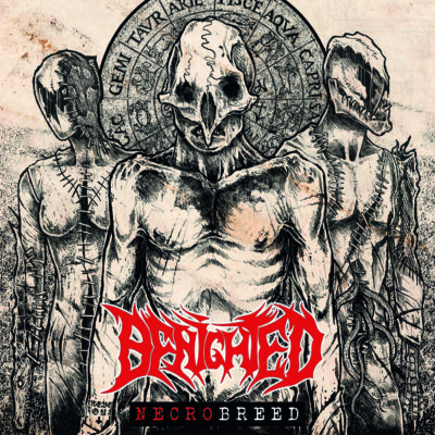 Bild Benighted Necrobreed Album 2017 Cover Artwork