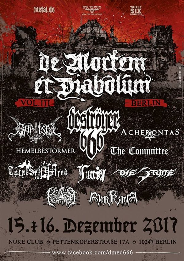 Bild De Mortem et Diabolum Flyer 10. April 2017