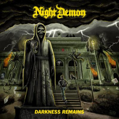 Night Demon - Darkness Remains (Artwork)