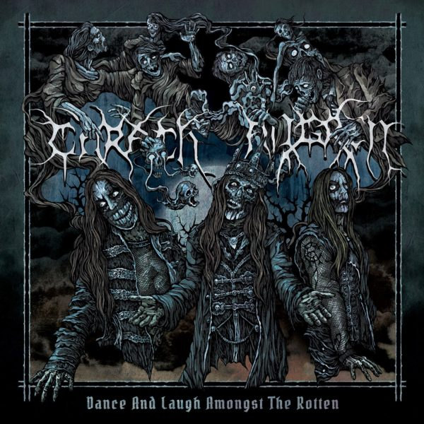 Bild Carach Angren Dance And Laugh Amonst The Rotten Album 2017 Cover Artwork