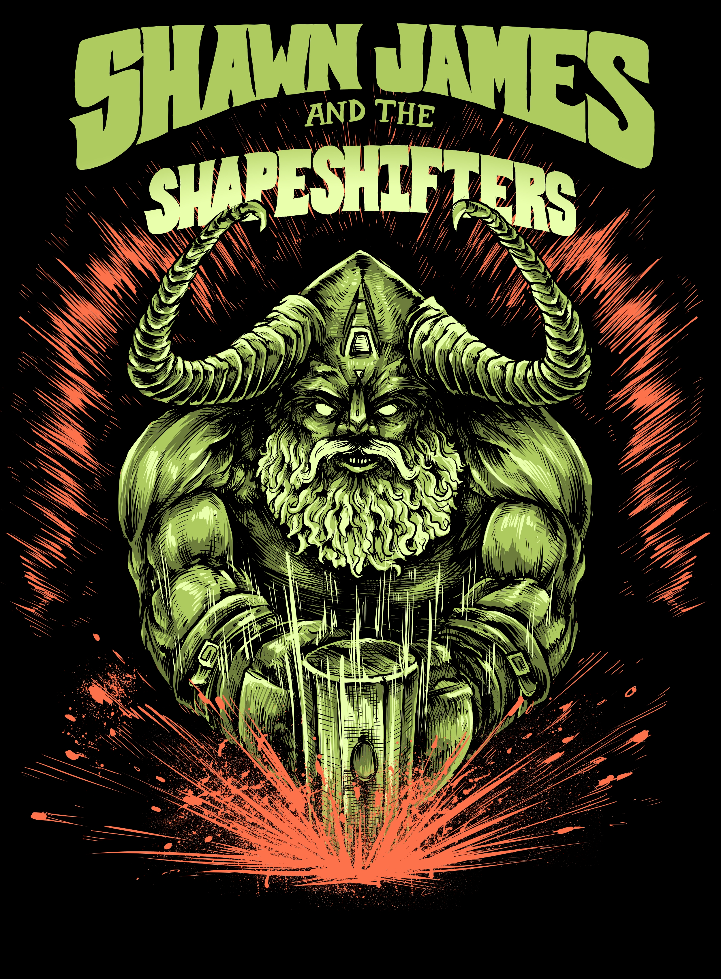 Shawn James and the Shapeshifters Tour 2017