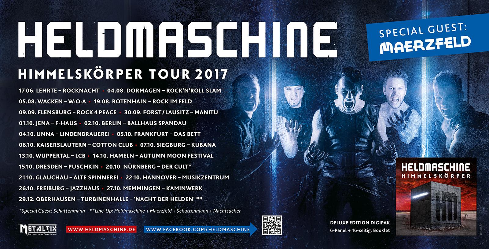 Heldmaschine - Tourplakat 2017