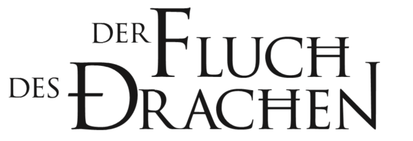 """Offizieller Schriftzug des Fantastical """"Der Fluch des Drachen"""""""