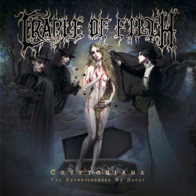 "Cover des Albums ""Cryptoriana - The Seductiveness Of Decay"" von Cradle Of Filth"