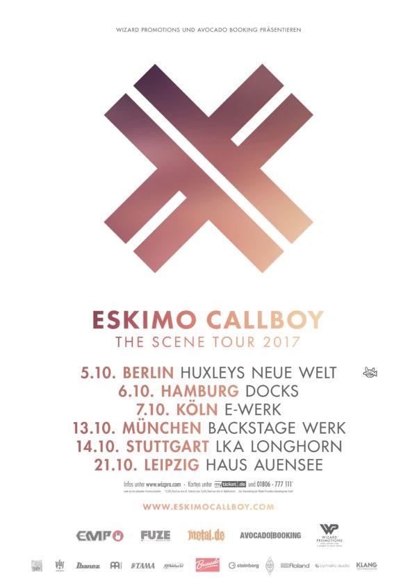 ESKIMO CALLBOY The Scene – Tour 2017