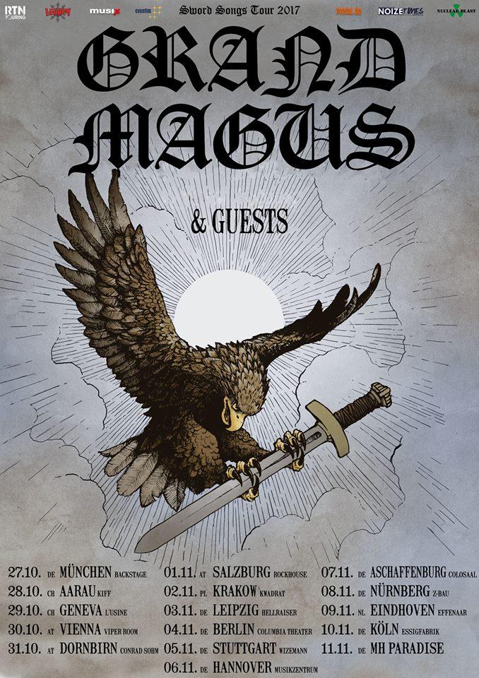 Grand Magus - Tour 2017