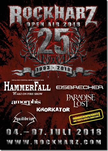 RockHarz 2018 - Flyer