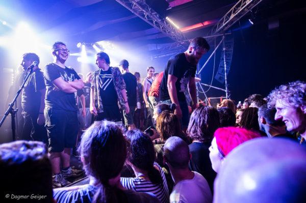 Live-Foto von The Dillinger Escape Plan in Leipzig 2017