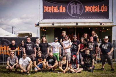 Bild metal.de Redaktion auf dem Summer Breeze 2017