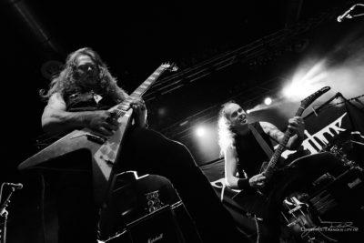 Konzertfoto von Desecrator auf der Breakin Outta Hell Tour 2017