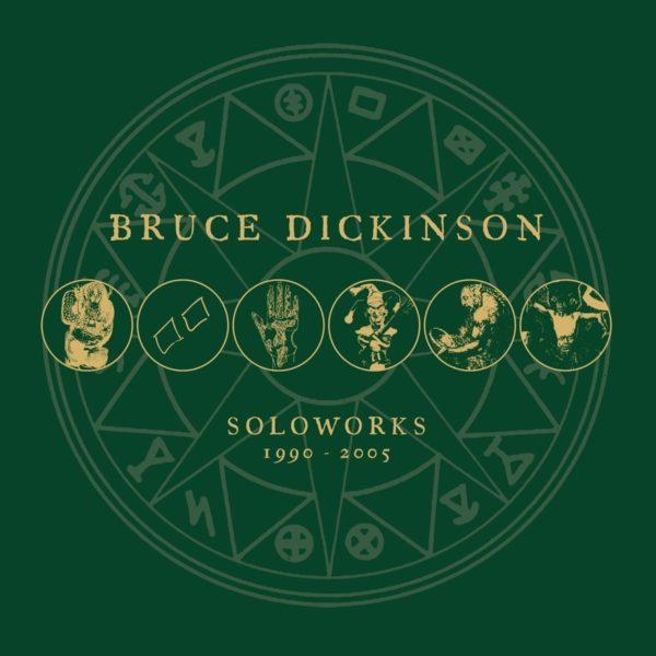 """Coverartwork von """"Soloworks 1990 - 2005"""" von Bruce Dickinson"""