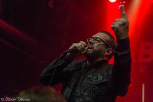 Konzertfotos von Diablo Blvd auf der Bloodsick UK and European Tour 2017