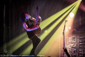Konzertfotos von Testament auf der Brotherhood of the Snake Tour 2017