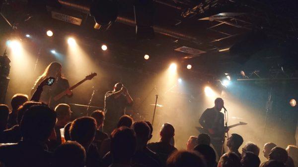 """Damnation Angels live im Rahmen der """"Legends Of The Shire Tour"""" am 02.12.2017 im Münchener Feierwerk"""