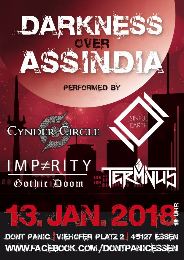 Flyer Darkness over Assindia Vol. 2