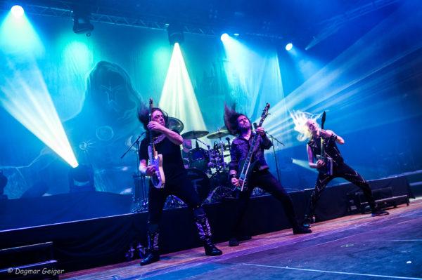 Live Foto von HammerFall auf dem Knock Out Festival 2017
