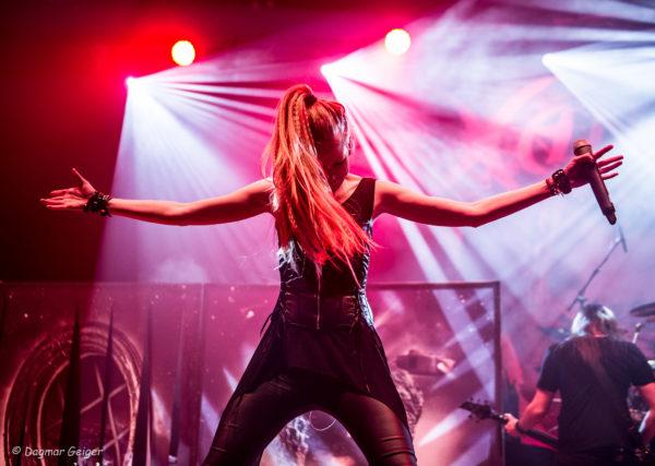 Live Foto von Xandria auf dem Knock Out Festival 2017