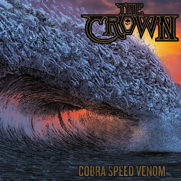 The Crown - Cobra Speed Venom - Artwork