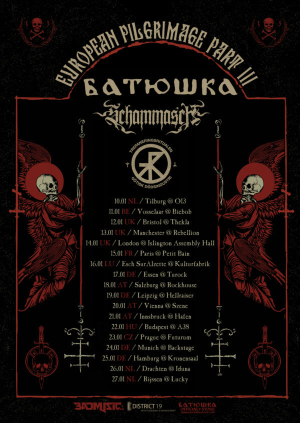 European Pilgrimage Tour (Tour Plakat)