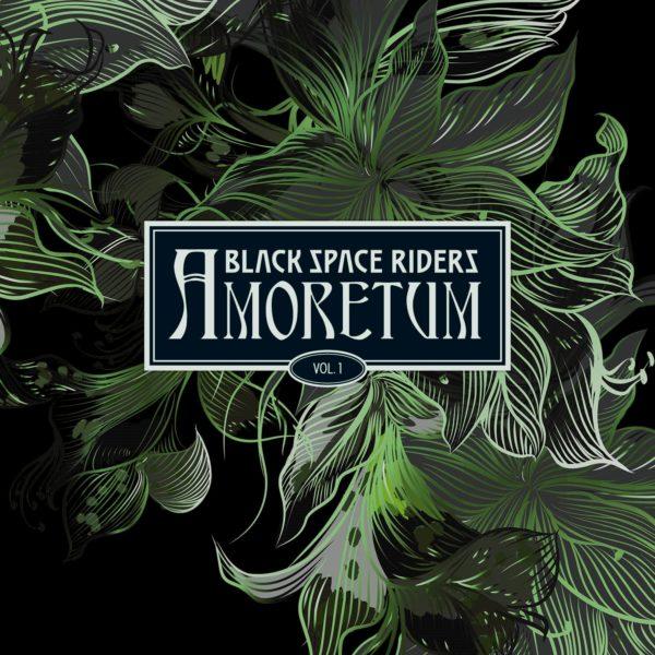 """Hier befindet sich das Cover von """"Amoretum Vol. 1"""" der BLACK SPACE RIDERS."""