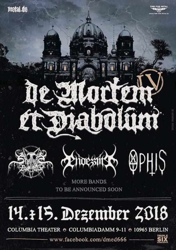 Bild De Mortem Et Diabolum Flyer