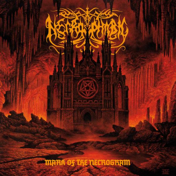 Cover Artwork Necrophobic Mark Of The Necrogram Album 2018