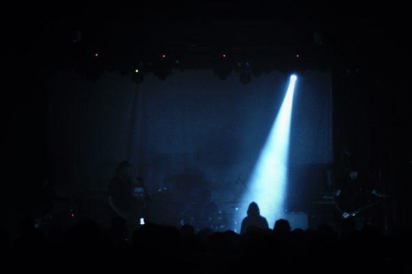 AMENRA bei ihrem Konzert in Dresden 2018.
