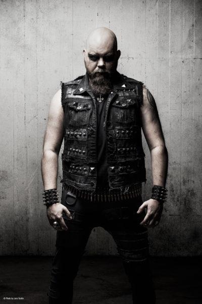 Foto: Joakim Sterner (drums) of Necrophobic