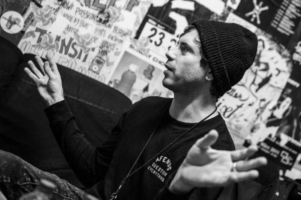Interviewfoto von In Hearts Wake 2017 in Stuttgart