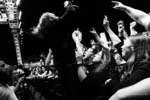 Konzertfoto von Dark Tranquillity auf der 70000 Tons Of Metal 2018