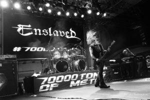 Konzertfoto von Enslaved auf der 70000 Tons Of Metal 2018