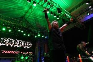 Konzertfoto von Exodus auf der 70000 Tons Of Metal 2018