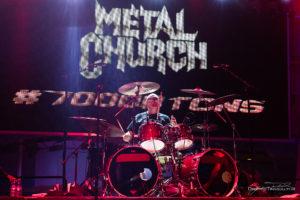 Konzertfoto von Metal Church auf der 70000 Tons Of Metal 2018