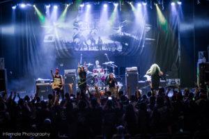 Konzertfoto von Seven Kingdoms auf der 70000 Tons Of Metal 2018